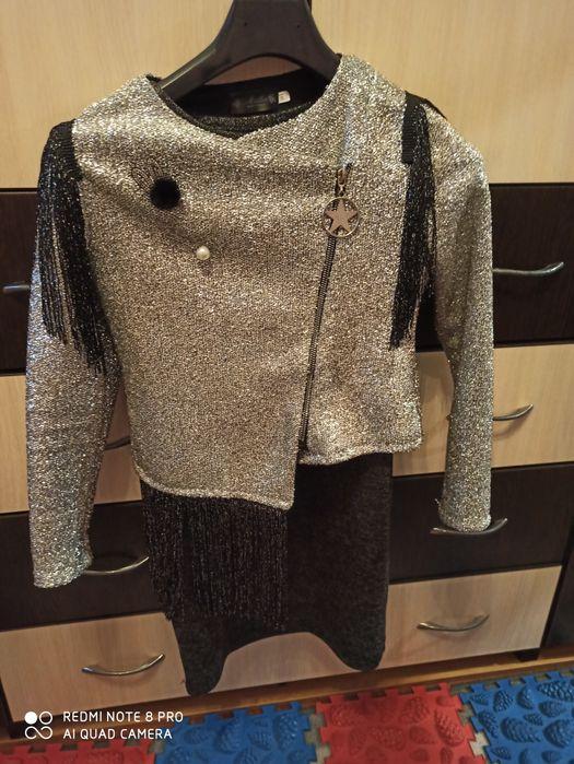 Нарядный костюм, платье+пиджак Коростень - изображение 1