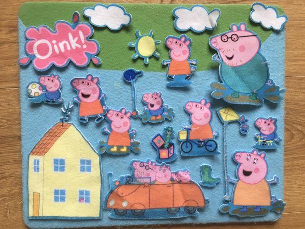 Filcowe układanki Pepa Pig Playland
