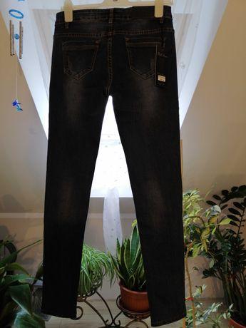 Spodnie jeansowe nowe damskie 38