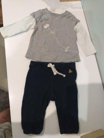 Bluzeczka i spodenki 62-68 cm