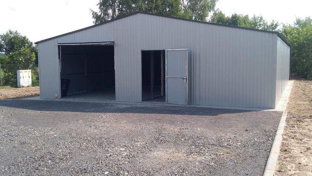 Garaż Blaszany od producenta hala wiata 9x20 na każdy wymiar