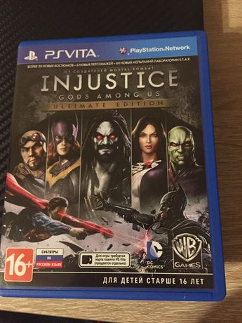 Injustce Ultimate Edition ps Vita PL