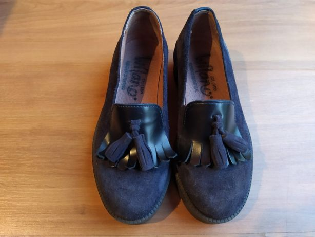 Sapatos azul marinho menina