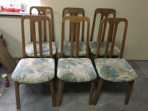 6 деревянных стульев,  Германия