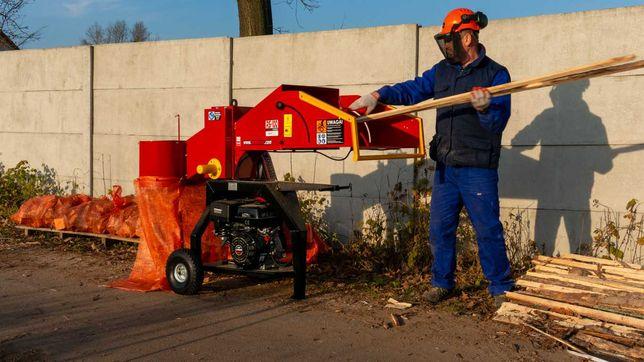 Rębak spalinowy 15KM do gałęzi OD RĘKI dostawa GRATIS