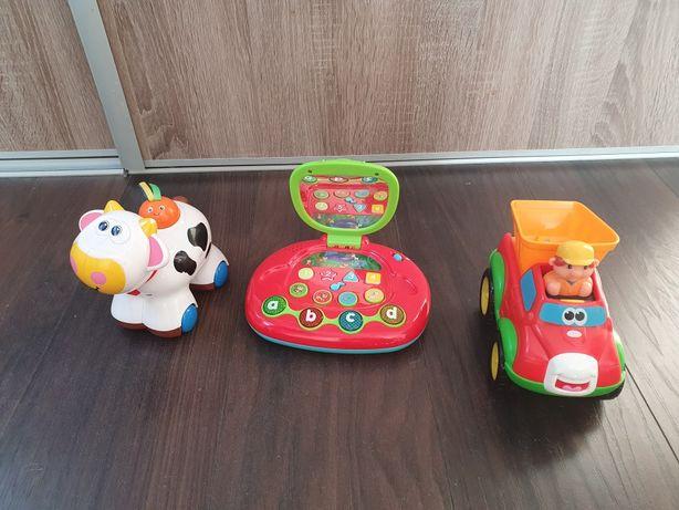 Zabawki Kiddieland grające krówka wywrotka laptop