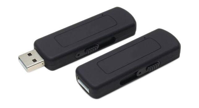 Dyktafon Pendrive 4GB Podsłuch Szpiegowski Aktywacja głosem pluskwa