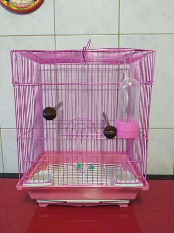 Клетка для волнистого попугайчика или канарейки