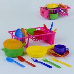 Набір дитячої посуди детская посуда на подносе