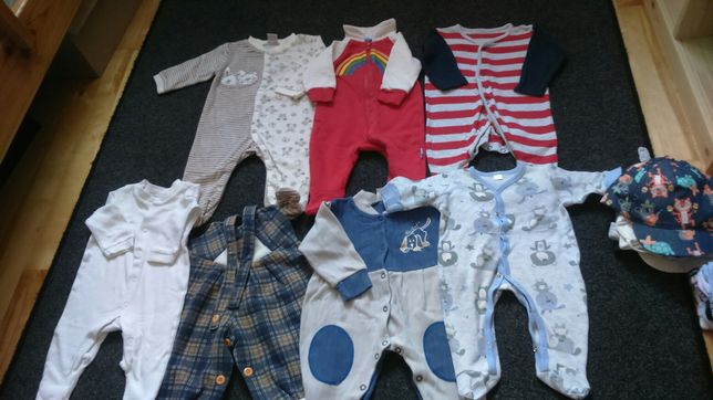 Ubranka/body/pajacyki dla chłopca/niemowlęcia 0-3,3-6,6-9. Rozm.62-80