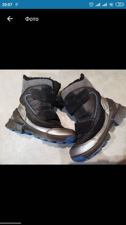 Сапоги ecco, ботинки зимние
