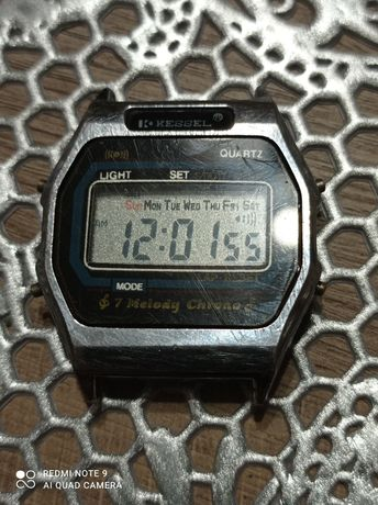 Graty ze starej chaty_ stary zegarek elektronika Kessel. *02