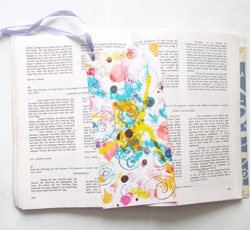 kolorowe zakładki do książki, prezenty dla gości, upominki dla gości