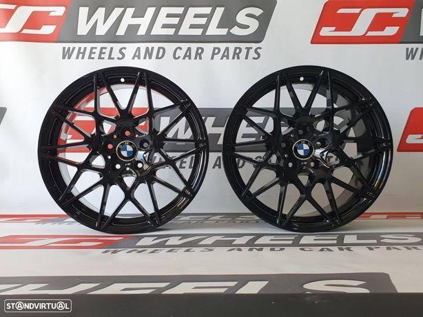 Jantes look BMW M4 GTS em 19 5x120 preto brilho