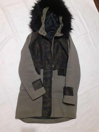 SISLEY Демисезон куртка-милитари