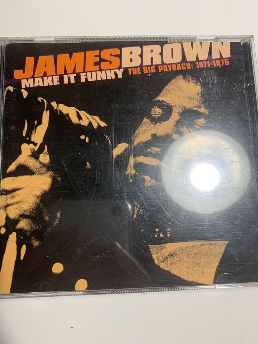 James Brown Make in funky The big payback CD Wrocław - image 1