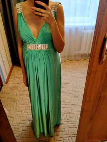 Вечернее платье в пол 137 см от плеч