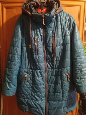 Куртка женская зимняя 56 р