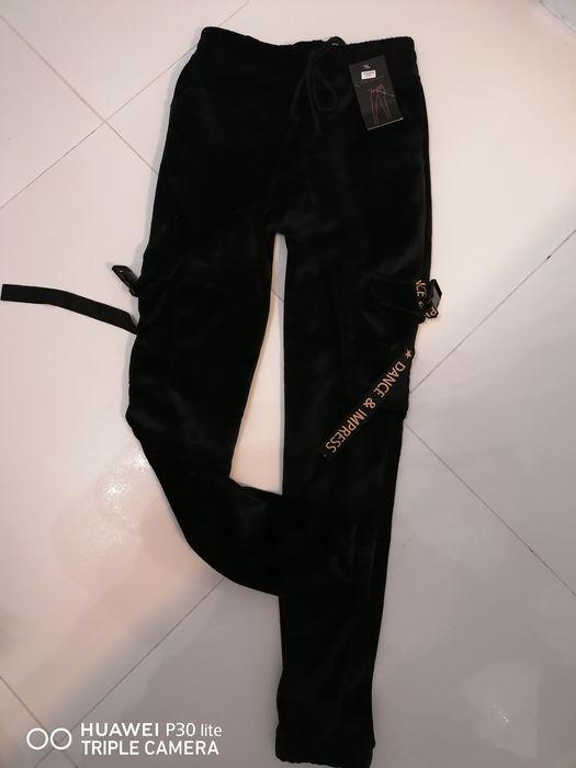 Spodnie welurkowe damskie Pcim - image 1