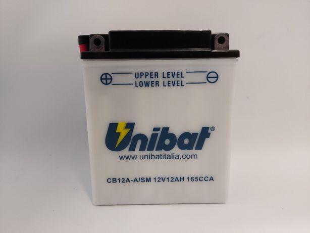 Akumulator 12Ah 165A Unibat CB 12A-A