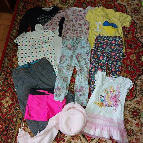 Пакет вещей девочке 3-5 лет отдам бесплатно