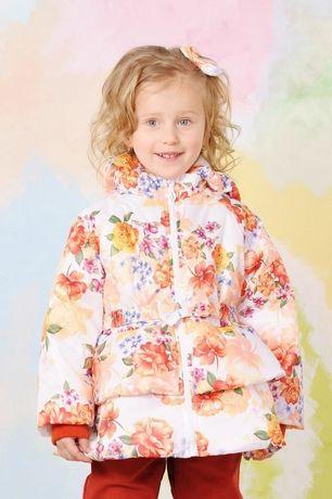Осенняя демисезонная курточка для девочки