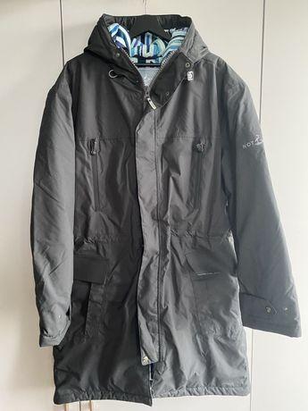 Kurtka płaszcz męska wodoodporna zimowa