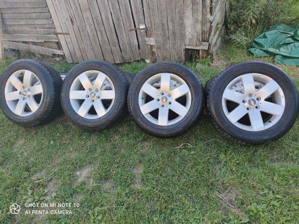 "Alufelgi Chevrolet Captiva 5x115 17"" Opony 235/60-17"