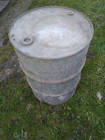 Beczka ocynk 200 l,  solidna na paliwo lub deszczówkę