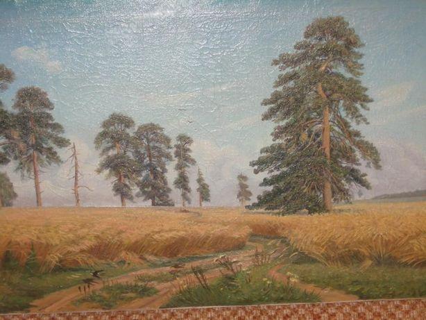 Продам картину (репродукция) И.И. Шишкина – «Рожь»