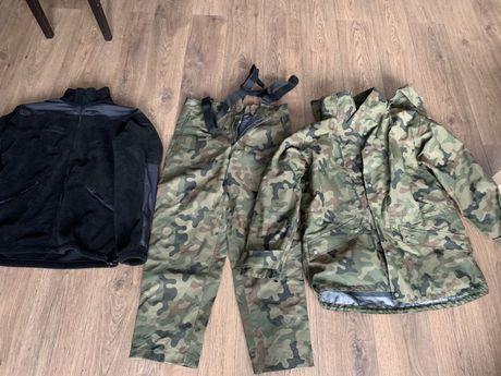 Ubranie ochronne gore-tex 128 L/L jak nowe zestaw kurtka spodnie podp