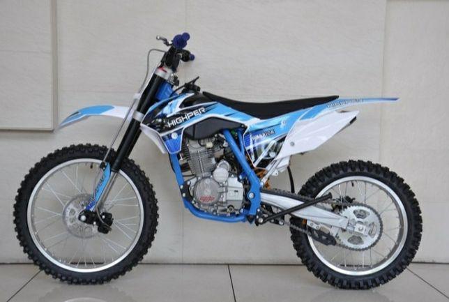 Vendo Dirt Bike 150cc  Highper 15cv