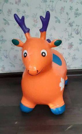Продам игрушку олень-прыгун
