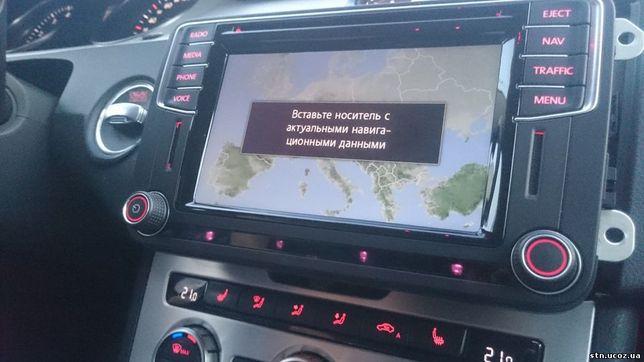 Смена региона, русский и навигация для любых моделей VW USA