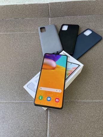 Samsung A71 128GB Prism Silver Novo (Troca)