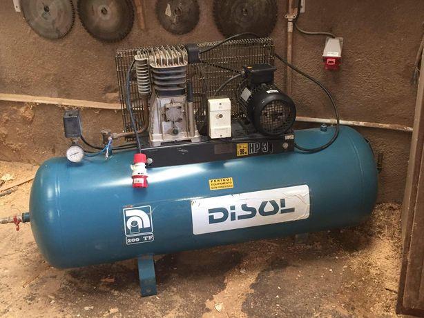 Compressor de 200lt