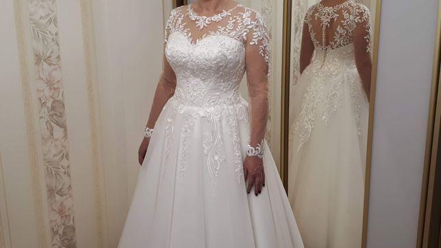 Свадебное платье.Весільна сукня розмір 48-50