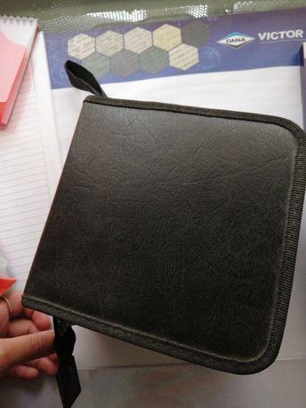 Porta CD's preto