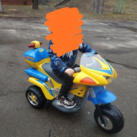 Детский электромотоцикл Geoby W325