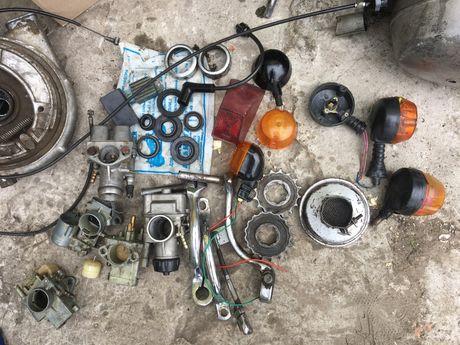 мотоцикл Иж, запчасти: колесо, двигатель, карбюратор ...