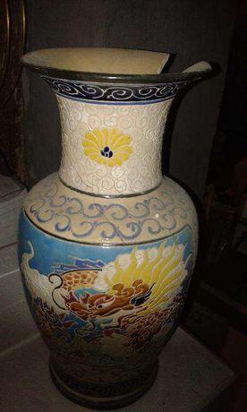 Piekny chinski stary wazon - na stare lampowe radio zamienie lub