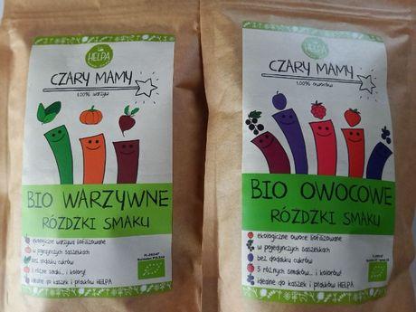 Zestaw Helpa BIO Warzywne i Owocowe Różdżki Smaku