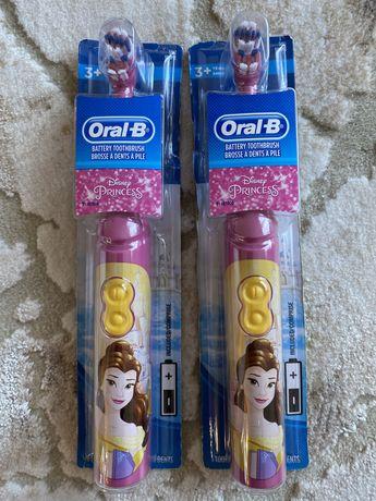 Детская зубная электро щетка Oral-B Зубная щетка Фрозен Бель Моана