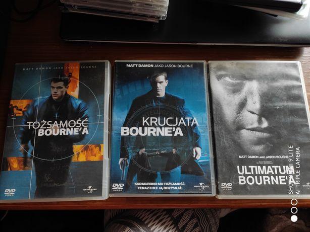 Tożsamość Bourne'a , Krucjata Bourne'a , Ultimatum Bourne'a DVD