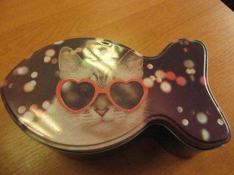 pojemnik na suchą karmę dla kota