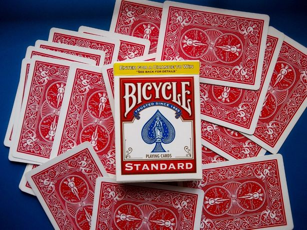 Карты Bicycle пластик покрыт Plastic Coated для игр фокусы
