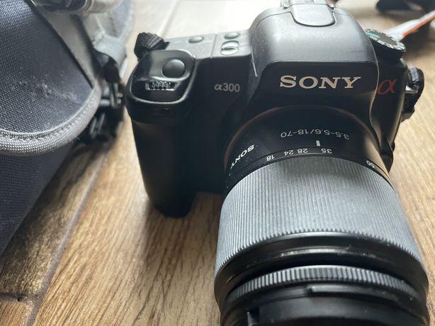 Sony allpha 300 + teleobiektyw