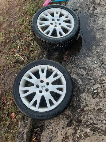 """Jantes e pneus 17"""" Renault"""