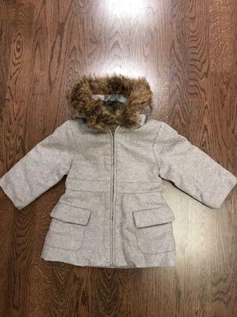 Демисезонное пальто Jacadi для девочки 6мес