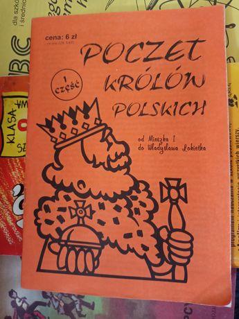 Poczet królów polskich - ściąga